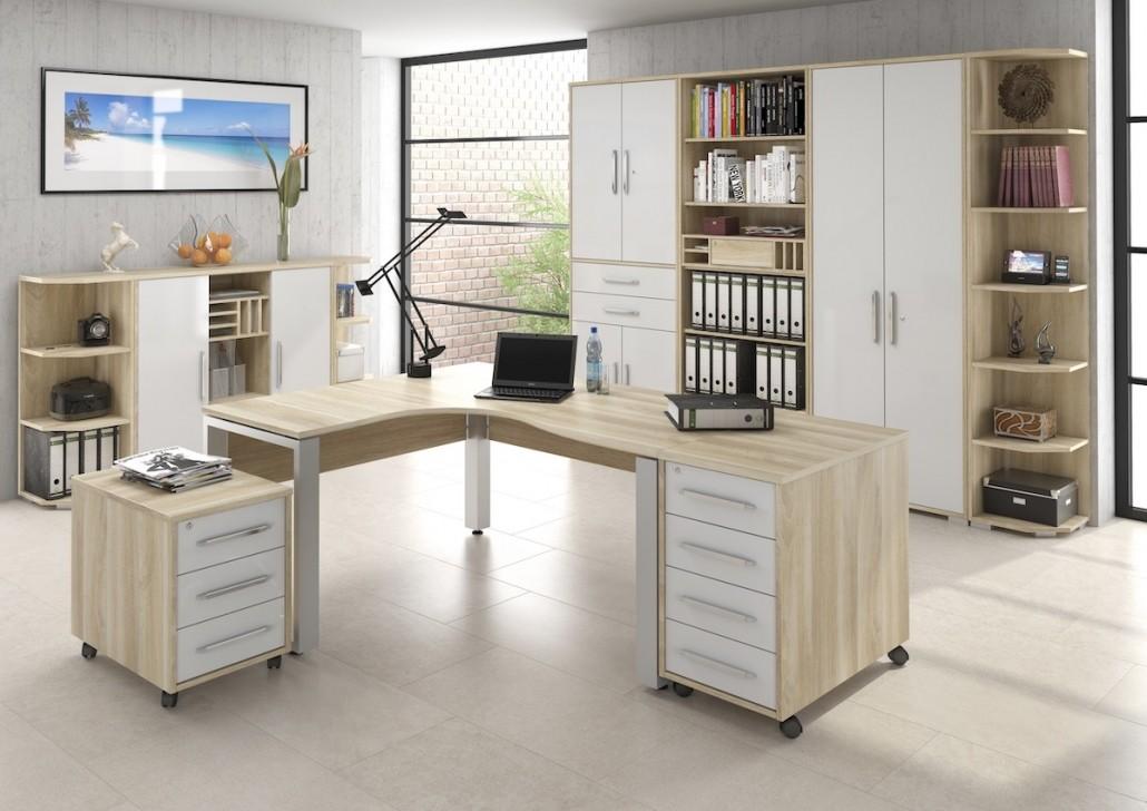 buero-arbeitszimmer-eck-schreibtisch-rollcontainer-schubladen-stauraum-regal